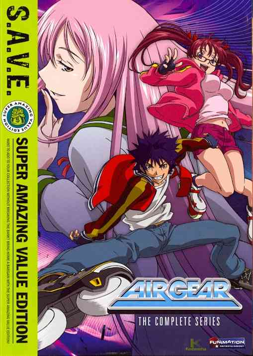 AIR GEAR:COMPLETE BOX SET (SAVE) BY AIR GEAR (DVD)